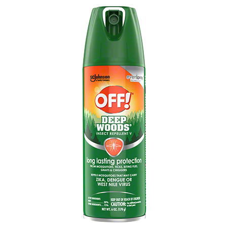 OFF! Deep Woods® Insect Repellent V Aerosol - 6 oz.