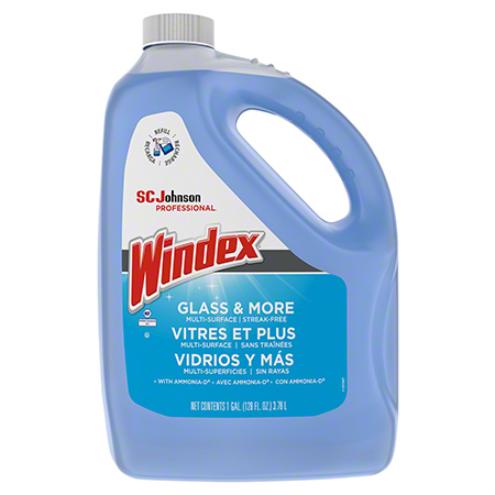 Windex® Glass & More Multi-Surface Cleaner w/Ammonia-D - Gal.