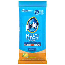 Pledge® Multi-Surface Wipes - 25 ct.