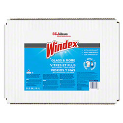 Windex® Glass Cleaner w/Ammonia-D® - 5 Gal. BIB
