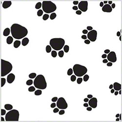 "SatinWrap® All Occasion Puppy Paws Tissue - 20"" x 30"""