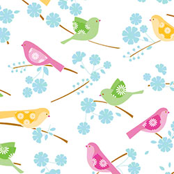 "SatinWrap® All Occasion Song Birds Tissue - 20"" x 30"""