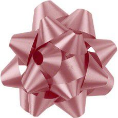 Shamrock Pink 14 Loop Star Bow - 2 3/4""