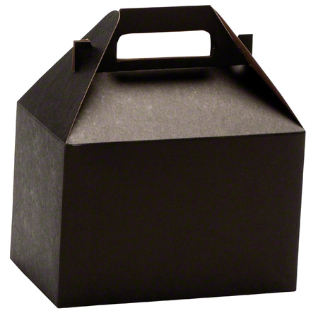 "Shamrock Noir Gable Box - 8"" x 4 7/8"" x 5 1/4"""
