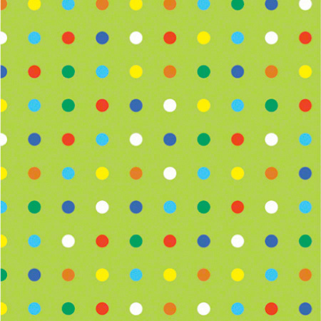 Shamrock Party Dots Gift Wrap - 100'