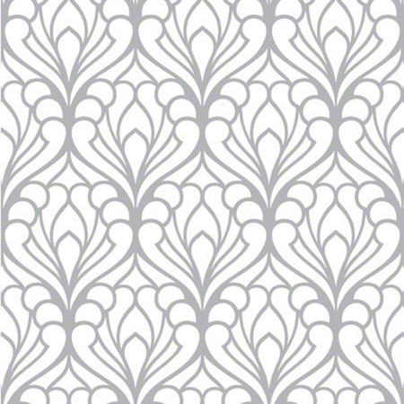 Shamrock Deco Flourish Gift Wrap - 100'