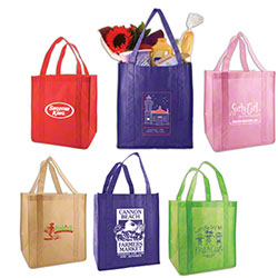 Shamrock Non-Woven Grocery Bags