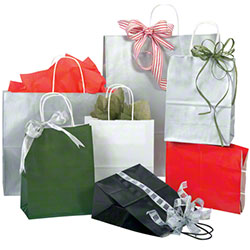 Shamrock Gloss Paper Shopping Bags