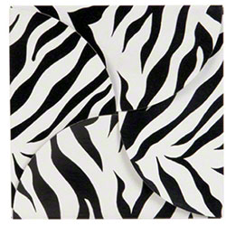 "Shamrock Zebra Stripes Gift Card Folder - 6"" x 6"""