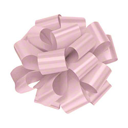 "Shamrock Splendorette® Pre-Notched Bow - 4"", Pink"
