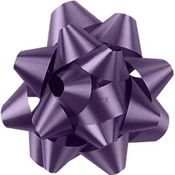 Shamrock Lavender 14 Loop Star Bow - 2 3/4""