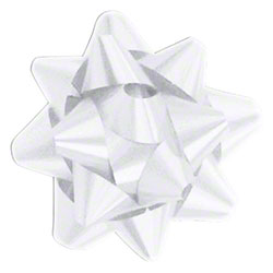 Shamrock Splendorette® White 15 Loop Star Bow - 3 3/4""