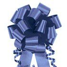 "Shamrock Flora-Satin® Bow - 4"", Royal"