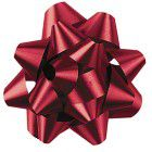 Shamrock Lava Red 15 Loop Star Bow - 3 3/4""