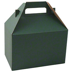 "Shamrock Forest Green Gable Box - 8"" x 4 7/8"" x 5 1/4"""