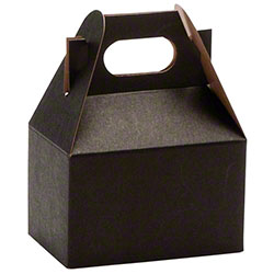 "Shamrock Noir Gable Box - 4"" x 2 1/2"" x 2 1/2"""