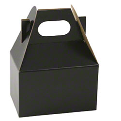 "Shamrock Midnight Black Gable Box - 4"" x 2 1/2"" x 2 1/2"""