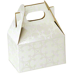 "Shamrock Quatrefoil Gable Box - 4"" x 2 1/2"" x 2 1/2"""