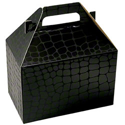 "Shamrock Mock Croc Gable Box - 8"" x 4 7/8"" x 5 1/4"""