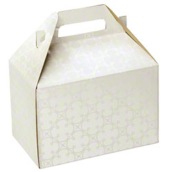 "Shamrock Quatrefoil Gable Box - 8"" x 4 7/8"" x 5 1/4"""
