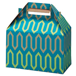 "Shamrock Zig Zag Gable Box - 8"" x 4 7/8"" x 5 1/4"""