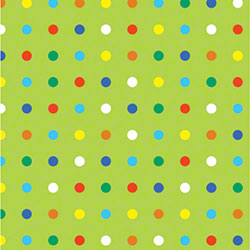 Shamrock Party Dots Gift Wrap