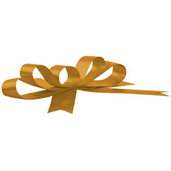 Shamrock Splendorette® Holiday Gold Crimped Curling Ribbon