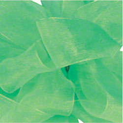 "Shamrock Emerald Simply Sheer Asiana - 1 1/2"" x 100 yds"
