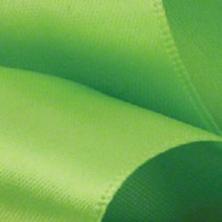 Shamrock Chartreuse Double Face Satin Ribbon