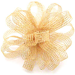 Shamrock Showtime Ribbons & Bows - Gold
