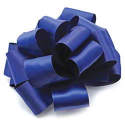 Shamrock Light Navy Double Face Satin Ribbon