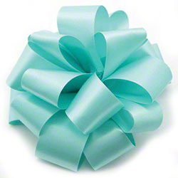 Shamrock Lucite Double Face Satin Ribbon