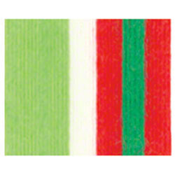 "Shamrock Christmas Stripe Cotton Curling Ribbon-1/2""x100 yds"