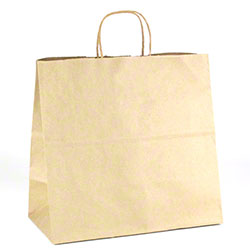 "Shamrock Natural Kraft Bag - 13"" x 7"" x 13"""