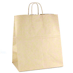 "Shamrock Natural Kraft Bag - 12"" x 9"" x 15"""