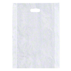 "Shamrock Clear Merchandise Bag - 14"" x 3"" x 21"""