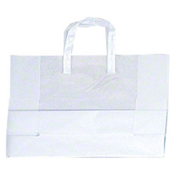 """Shamrock Clear Frosted High Density Bag - 16"""" x 6"""" x 12"""""""