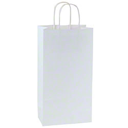 Shamrock 100% Recycled White Kraft Shopper - Puma