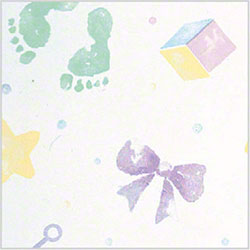 "Shamrock All Occasion Baby Prints Tissue - 20"" x 30"""