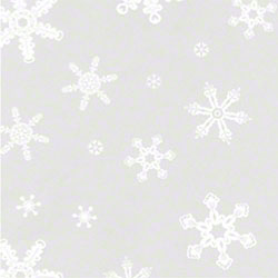 "Shamrock Snowflakes Cello - 30"" x 100', Roll"