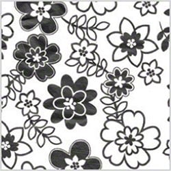 "Shamrock All Occasion Retro Flowers Tissue - 20"" x 30"""