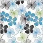 "Shamrock All Occasion Floral Lines Tissue - 20"" x 30"""
