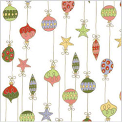 "Shamrock Merry Ornaments Cello - 30"" x 100', Roll"
