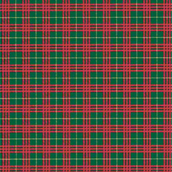 Shamrock Plaid Gift Wrap