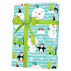 Shamrock Chilly Chums Gift Wrap - 833'