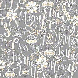 Shamrock Scripted Holiday Gift Wrap - 833'