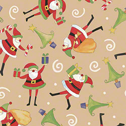 Shamrock The Night Before Christmas/Kraft Gift Wrap
