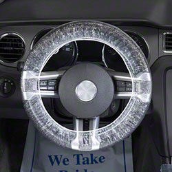 Slip-N-Grip® Large Double Band Steering Wheel Cover - 24""