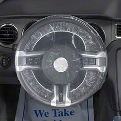 Slip-N-Grip® Shower Cap Style Steering Wheel Cover - 24""