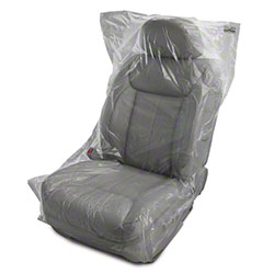 Slip-N-Grip® Logo Clear Seat Cover - Best